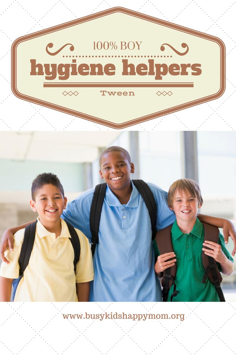 Tween Boy Hygiene